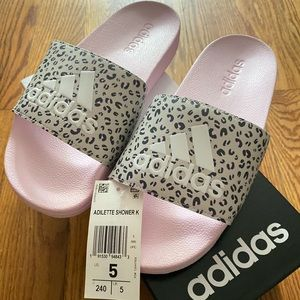 Adidas Adilette Shower K Cheetah Slides